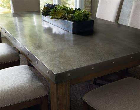 stainless steel dining room table 25 best ideas about metal dining table on
