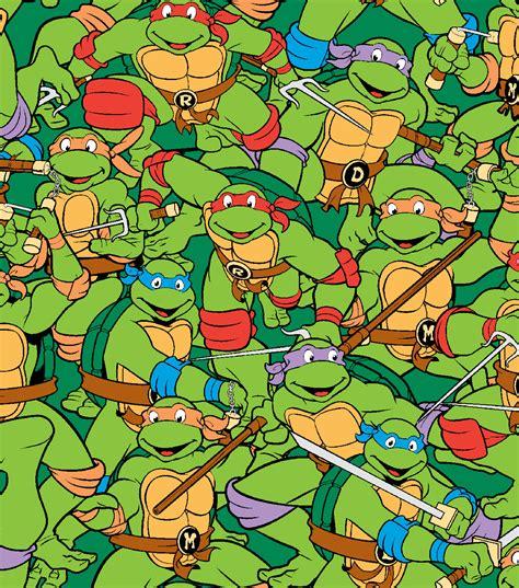 Joann Fabrics Home Decor nickelodeon teenage mutant ninja turtles retro flannel