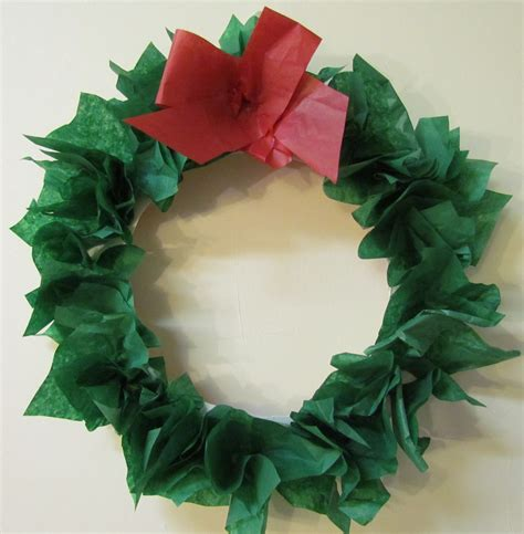 paper wreath craft learn to grow diy paper plate tissue paper wreath