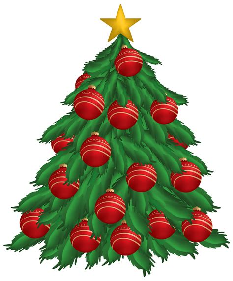 tree ornaments tree without ornaments clipart clipground