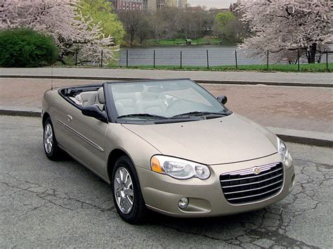 Chrysler Sebring chrysler sebring convertible specs 2003 2004 2005