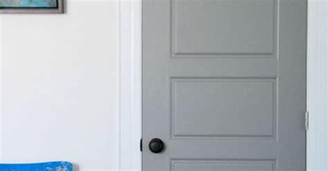 interior painted doors diy gray painted interior doors hometalk