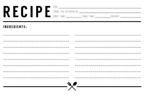 make a recipe card recipe card evermore paper co