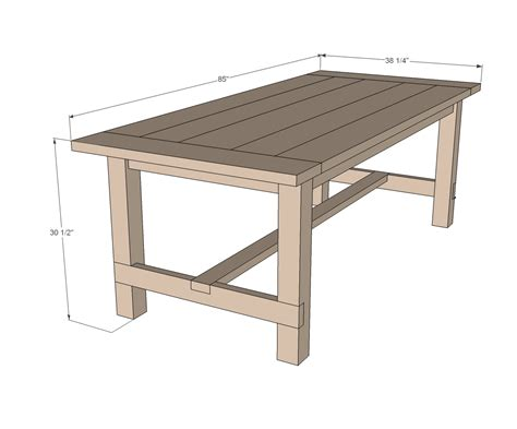 woodwork table designs kitchen table plans home design and decor reviews