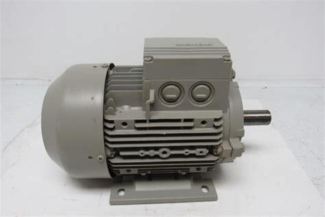 Siemens Electric Motors by Siemens 1la7106 6aa10 Electric Motor 3ph 1000rpm 230 400