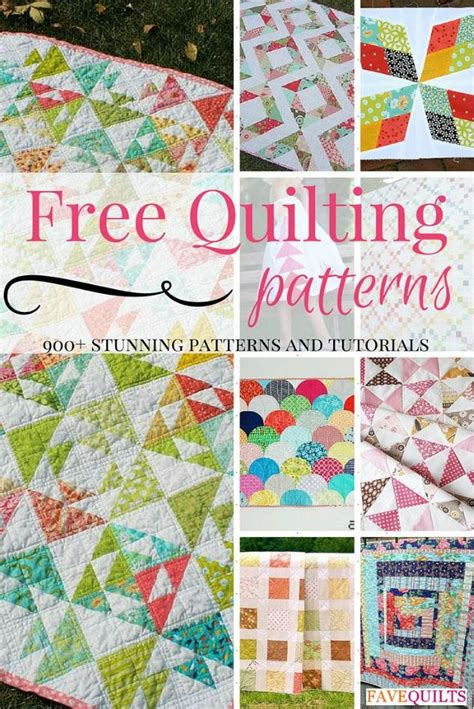 quilting craft projects 900 free quilting patterns favequilts