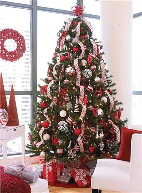 trees decorated in and white tree decoration with tree decoration