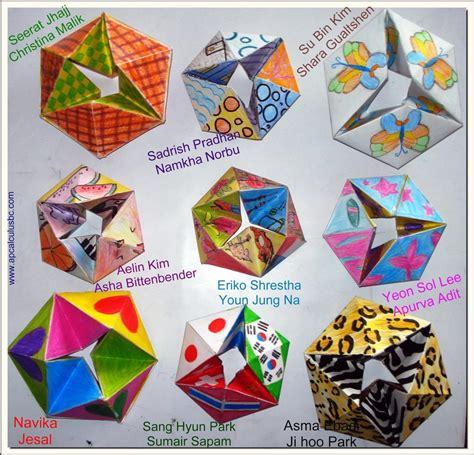 hexaflexagon origami origami sonoran foothills school resources