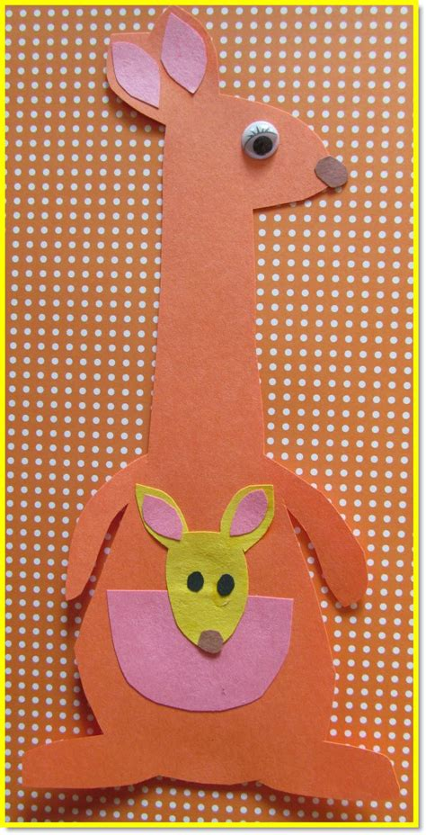 kangaroo craft for 1000 ideas about letter k crafts on letter k