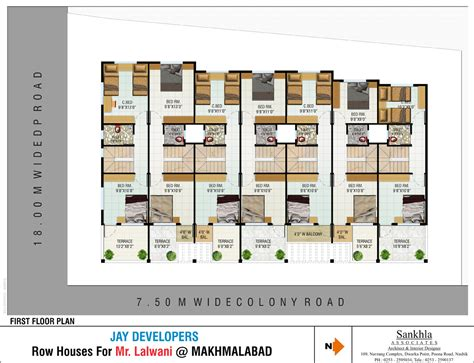 row house floor plans row house plans studio design gallery best design