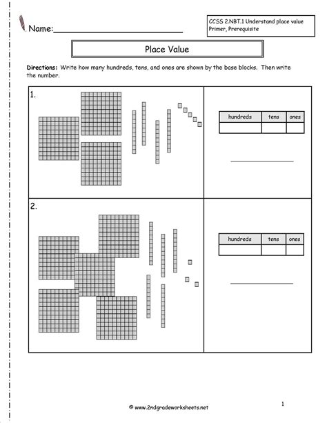 place value place value blocks worksheet 3 addend worksheets