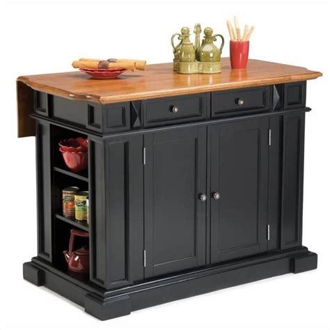 ebay kitchen island home styles kitchen island with breakfast bar in black ebay