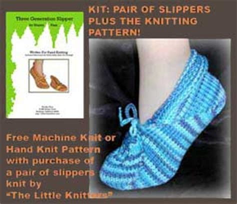 easy knitting machine patterns free free knitting machine slipper pattern simple free