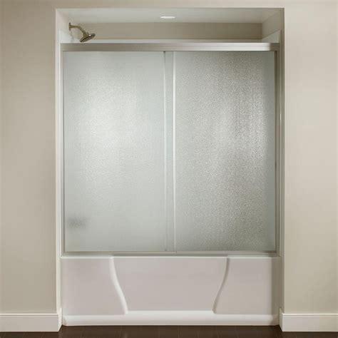 bathtubs with glass shower doors 60 in x 56 3 8 in framed sliding bathtub door kit in