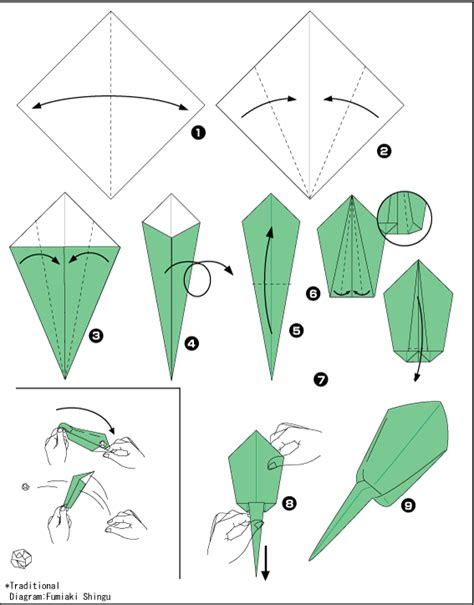 origami catapult origami catapult scheme of paper in the