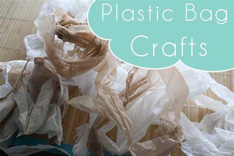 plastic bag crafts for bag crafts