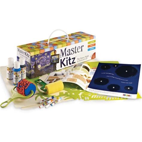 paint nite kits painting kit the starry by gogh