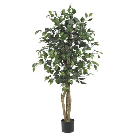 artificial trees 4 foot silk ficus tree potted 5299 nearly