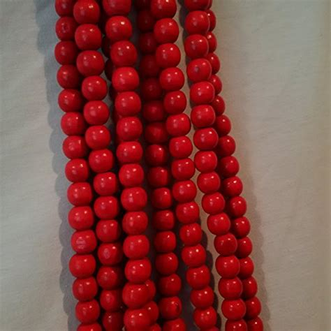 wooden bead garland for trees tree bead garland decorating