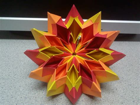 firework origami origami fireworks top view by theorigamiarchitect on