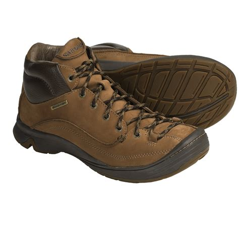 leather hiking boots s salomon ginko mid hiking boots leather for save 25
