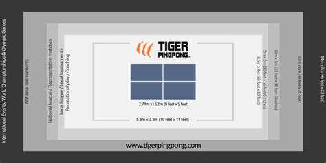 standard size ping pong table ping pong table sizes size of ping pong table ping pong room
