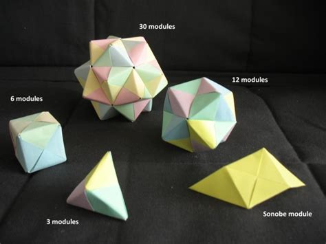 math and origami math monday introducing the sonobe unit national