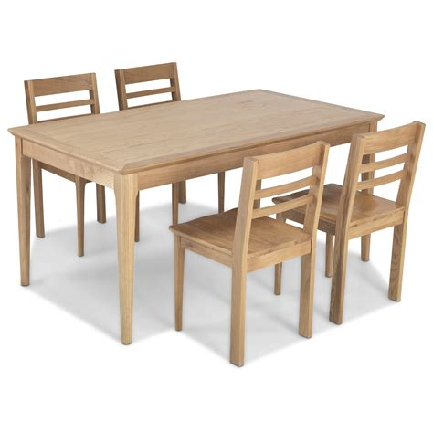 Oak Top Dining Table Hanlith Oak Fixed Top Dining Table