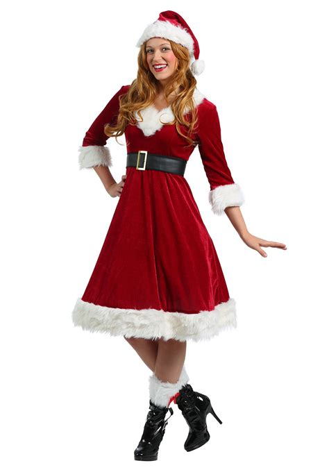 buy santa claus costume womens santa claus sweetie costume