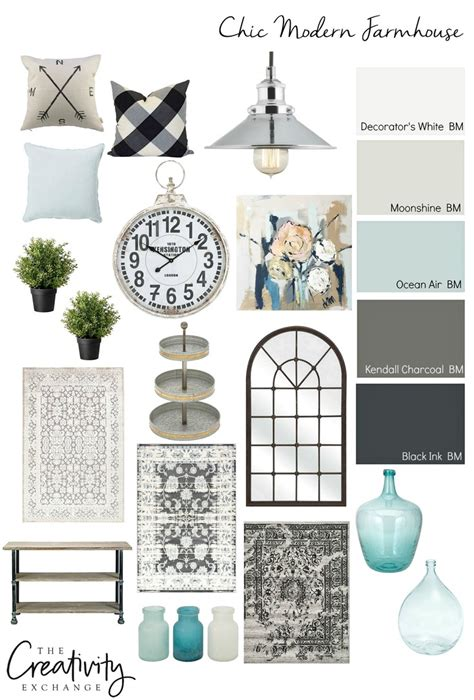 Rustic Home Interior Ideas moody monday chic modern farmhouse style