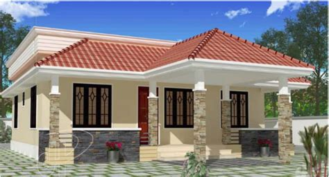 home design low budget 1100 square 3 bhk low budget small elevation kerala