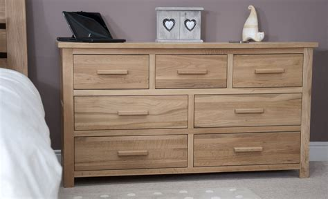 solid oak bedroom furniture uk eton solid modern oak furniture large bedroom wide chest