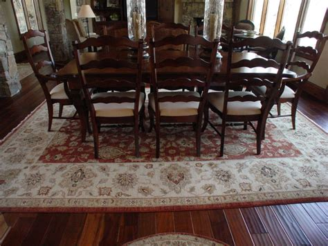 Pictures Of Dining Room With Area Rugs Dinning Rooms Traditional Dining Room Kansas City
