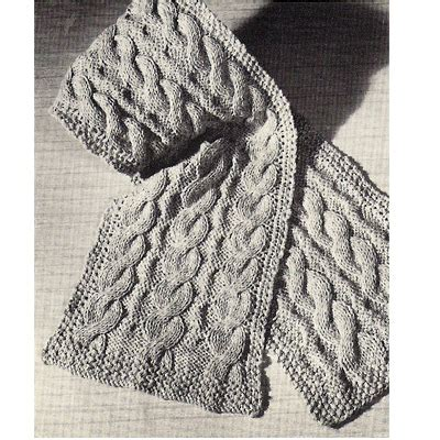 scarf knitting patterns for beginners easy beginners cable scarf free knitting pattern 12 x 54