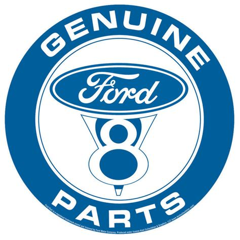Ford Sign by Ford Parts Tin Signs Metal Signs Sold At Ukposters