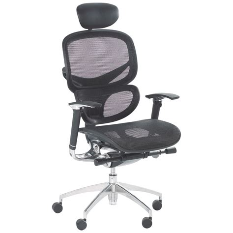 Desk Chair With Headrest by Optima Mesh Chair With Headrest Staples 174