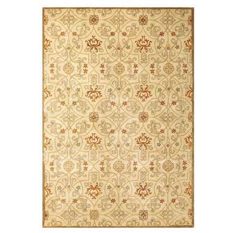 home decorators area rugs home decorators collection grimsby light gold 6 ft x 9 ft