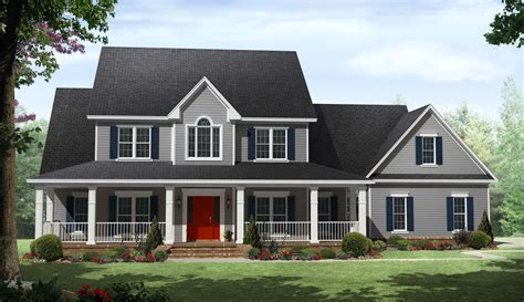2 story house plans with wrap around porch country two story home with wrap around porches maverick