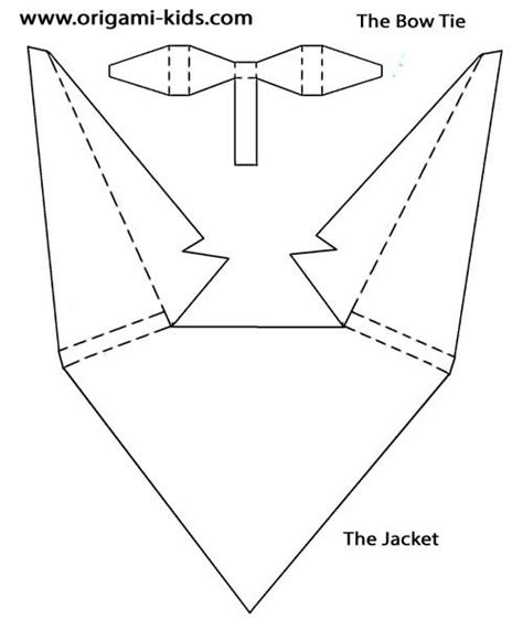 origami suit suits and origami on