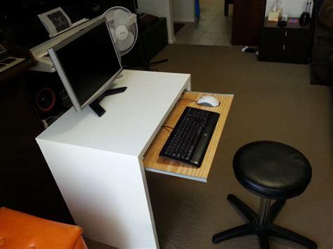 ikea malm desk hack ikea micke desk with keyboard tray ikea hackers ikea