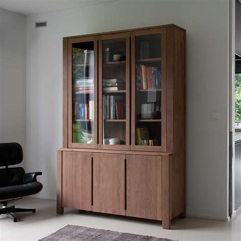 wood bookcases with doors effortless installation bookcases with glass doors jen