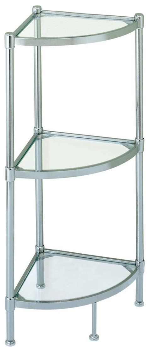 glass shelving bathroom review of glass based bathroom corner shelves