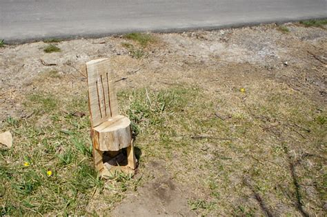 Stump Chair by Wood Dodgeville