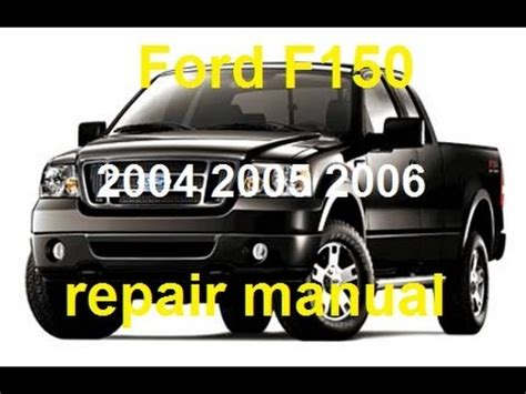 free owners manual for a 2005 ford e series ford full sized vans repair manual 1992 2014 ford f150 2004 2005 2006 service repair manual youtube