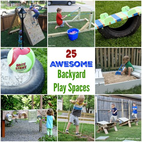 backyard climbing structures the best backyard diy projects for your outdoor play space