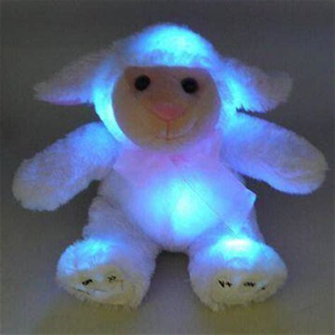light animals novelty plush animal light up with 3 colors changing