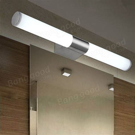 bathroom mirrors led lights 10w brief stainless steel led wall light bathroom