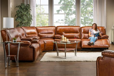 leather sectional sofa with power recliner leather sectional sofa with power recliner