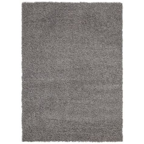 5 ft area rugs sweet home stores cozy shag collection grey 5 ft x 7 ft