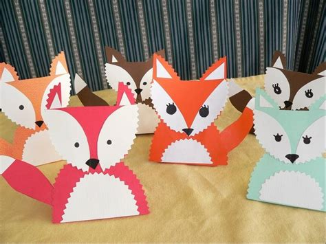 fox craft for foxy crafts for the thanksgiving table dailyherald